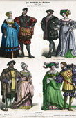 German Costume - German Fashion - Uniform - Germany - Nobility (16th Century - XVIth Century)