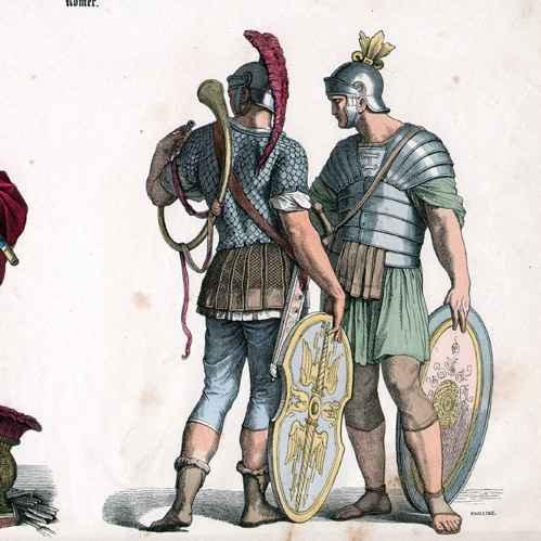 Ancient Roman Soldier Uniform 72