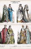 Traje Italiano - Moda Italiana - Italia - Florencia - Venecia - Roma - Siena - Padua - Dogo - Nobleza (Siglo 16 - Siglo XVI)