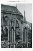 Cathedral Notre-Dame de Paris - Contreforts et Arcs-Boutants du Choeur (France)