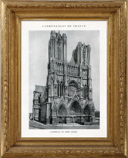 Cathedral of Reims (Marne - France)