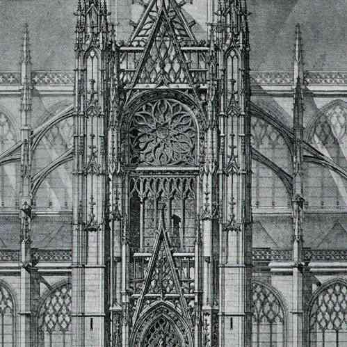 antique prints print of drawing of architect historic. Black Bedroom Furniture Sets. Home Design Ideas