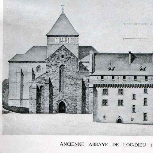Loc Dieu Abbey Abbey of Loc-dieu Aveyron