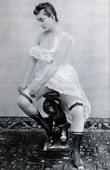 French Erotic Daguerreotype - Female Nude - Gertrude