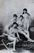 French Erotic Daguerreotype - Female Nude - Angelle Naked - Exposition de 1889 - Beauty Contest