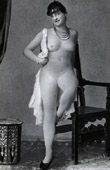 French Erotic Daguerreotype - Female Nude - F�licette Naked