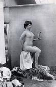 French Erotic Daguerreotype - Female Nude - La Muse