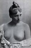 French Erotic Daguerreotype - Female Nude - Louise