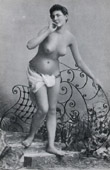French Erotic Daguerreotype - Female Nude - The Nymph