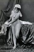 French Erotic Daguerreotype - Female Nude - La Soubrette
