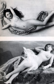 French Erotic Daguerreotype - Female Nude - The Mermaids 2
