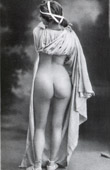 French Erotic Daguerreotype - Female Nude - The Buttocks