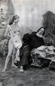 French Erotic Daguerreotype - Female Nude - Monk - Vade Retro Satanas