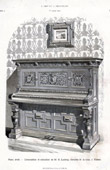 Musical Instrument - Upright Piano - Vienna (B. Ludwig)