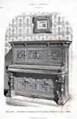 Musikinstrument - Pianino - Wien (B. Ludwig)