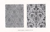 Grabado antiguo - Dibujos de Tapices (M.Toifel)