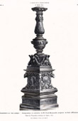 Wooden Candelabrum -  Ferd. Romanelli (Florence)