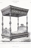 Antique Furniture - Bed - E. Carpentier (Paris)