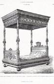 Antique Furniture - Bed - E. Carpentier (Paris)