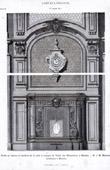 Fayence Ofen - H�tel des N�tumi�res - J.B. Martenot (Rennes) Frankreich