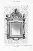 Spiegel aus Holz - MM Flachat et Cochet (Lyon)