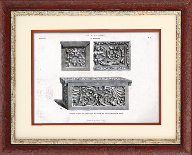 antique prints prints of ducher et cie. Black Bedroom Furniture Sets. Home Design Ideas
