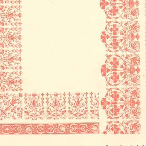 gravures anciennes tapis de table pour tissus de toile unie ou broderie plate j dillinger. Black Bedroom Furniture Sets. Home Design Ideas