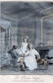 Genre Scene - The English Lunch - Le Déjeuner Anglais (Nicolas Lafrensen dit Lavreince ou Lavrince)