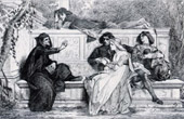 Florence - Florentine Poet - Le Po�te Florentin (Alexandre Cabanel)