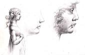 Cabinet de Vivant Denon - Italian Renaissance - The Young Girl (Fra Filippo di Tommaso Lippi called Lippo Lippi)