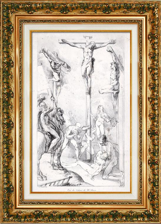 Antique Prints Cabinet De Vivant Denon Ancient Rome Art Nude The Crucifixion Of The