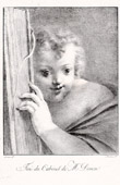 Cabinet de Vivant Denon - Angel - The Cherub (Bartolomeo Schedoni)