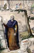 Bible - Portrait of Saint Joseph - Joseph of the House of David - Joseph the Betrothed - Joseph of Nazareth - Joseph the Worker