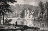 Castle - Ch�teau de la Reine Blanche - For�t de Chantilly (France)