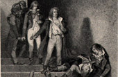 French Revolution - Death of Romme  Duquesnoy  Goujon Soubrany Bourbotte - Martyr of Prairial
