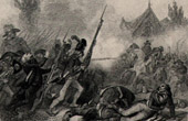 French Revolution - War in the Vendée - Nantes (June 29th 1793) - Defeat - Jacques Cathelineau - Catholic and Royal Army - Charette