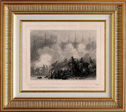 French Revolution - Capture of the Dutch Fleet in Helder (January 21st 1795) - French Cavalry - De Winter - Lahure - Zuyderz�e