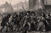 French Revolution - Assault of the Jacobins Club by Muscadins (November 9th 1794) - Fr�ron and Tallien