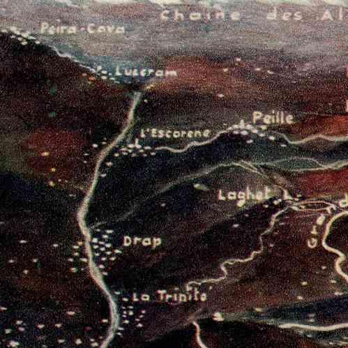 Grabados antiguos francia costa azul riviera - La provenza italiana ...