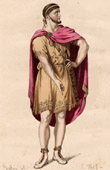 Theater Clothing - French Stage Costume - Tragedy - Nicom�de (Pierre Corneille)