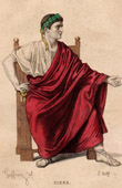 Theater Clothing - French Stage Costume - Tragedy - Cinna or the Clemency of Caesar Augustus (Pierre Corneille)