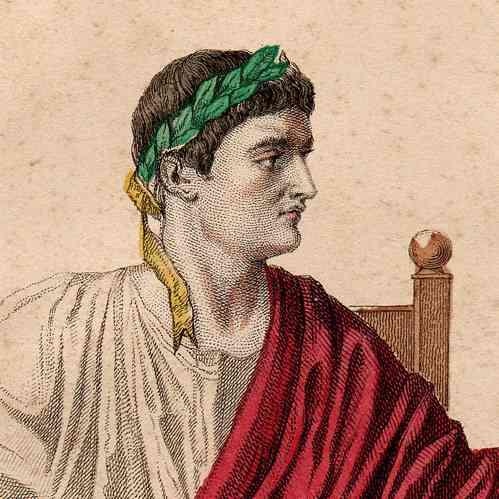 Augustus caesar painting of caesar augustus pierre