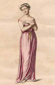 Theater Clothing - French Stage Costume - Tragedy - Psyche - Psyché (Pierre Corneille)