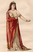 Theater Clothing - French Stage Costume - Tragedy - Greek Mythology - Medea - Nérine - Médée (Pierre Corneille)