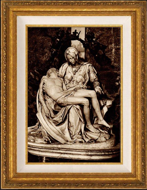 Antique Prints View Of Rome Italy La Piet 224 Vaticana
