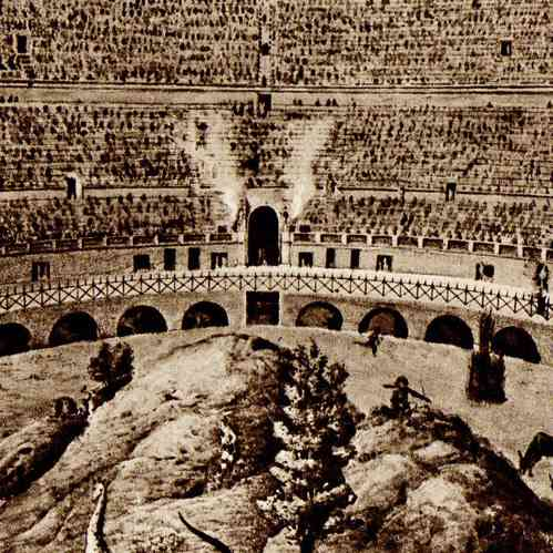 Antique Prints View Of Rome Italy Roman Circus