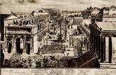 View of Rome - Italy - Forum Romanum seen from the Capitol (Emilio Laurenti)