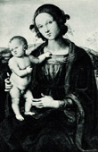 Galleria Borghese - The Virgin and Child (Pietro Perugino)
