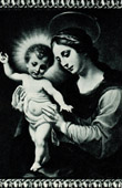 Galleria Borghese - Madonna - The Virgin and Child Jesus (Carlo Dolci)