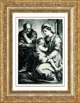 Galer�a Barberini - La Sagrada Familia - La Virgen y el Ni�o Jesus - La Sacra Famiglia (Andrea del Sarto)
